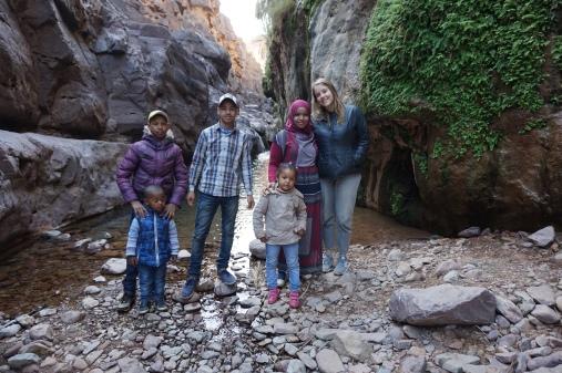 Tizgui waterfalls