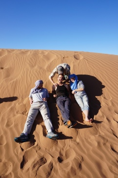 The dunes near Tagounite with fellow PCVs