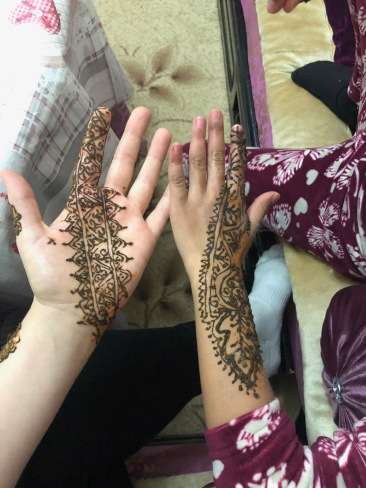 Henna by my host mother