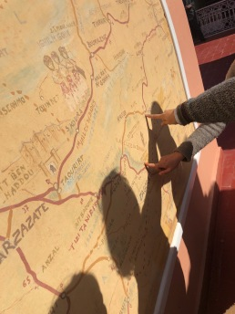finding our sites on the regional map