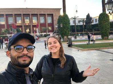 Unexpected visit to Rabat. My Darija teacher Youssef showed me around before he moved to Boston.