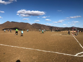 Soccer tournament during vacation