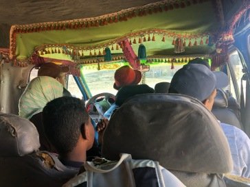 My naql (van) transport to site